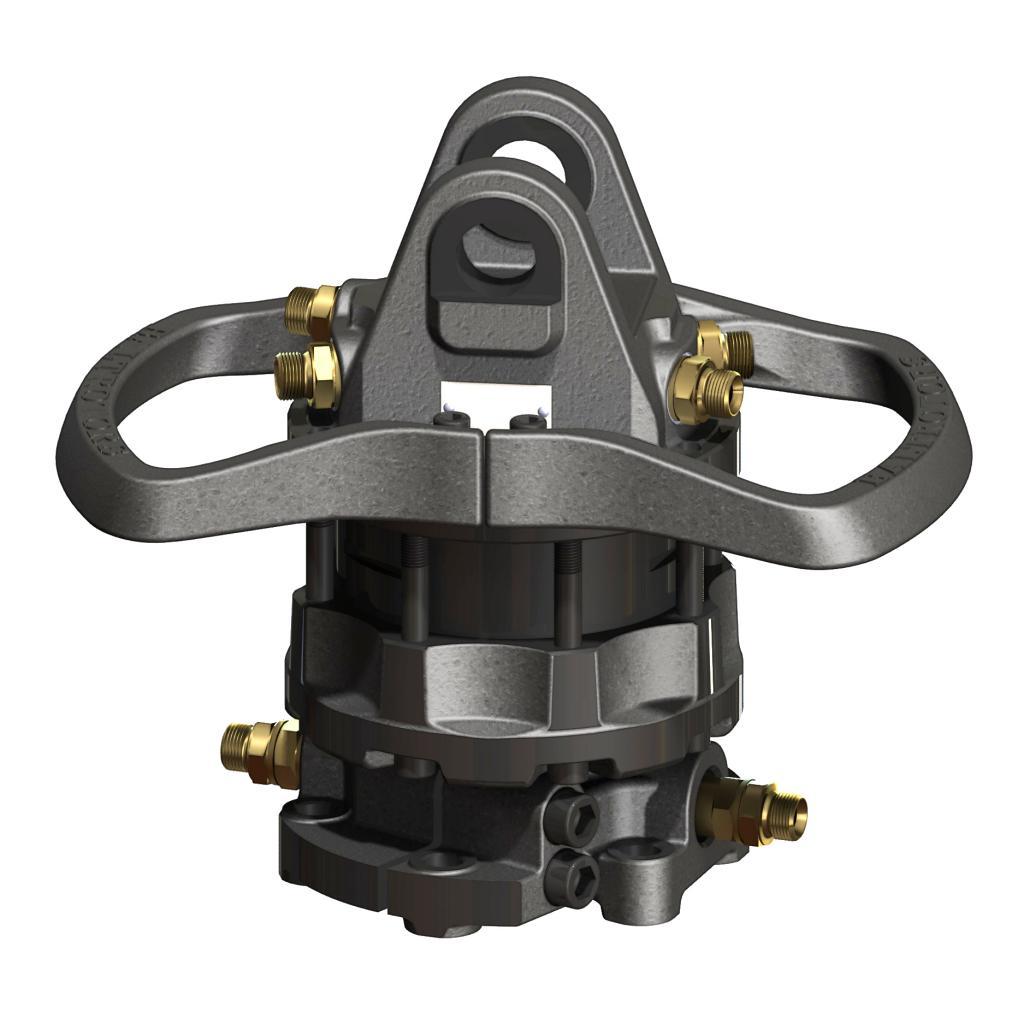 Hydraulický rotátor Baltrotors GR104DB