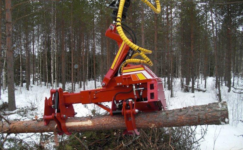 Lesné hospodárstvo - ťažba dreva