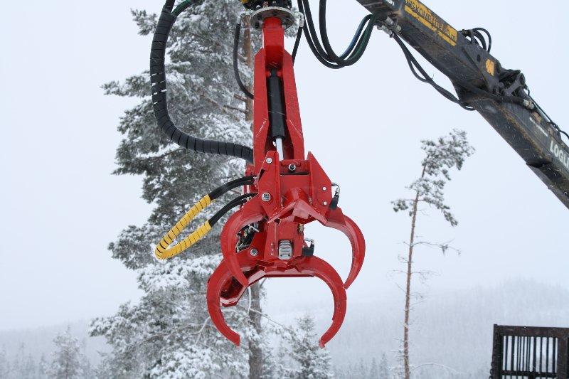 Stínacia hlavice pre hydraulické ruky