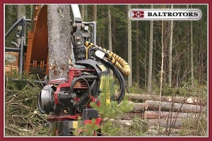 Harvestorové rotátory Baltrotors