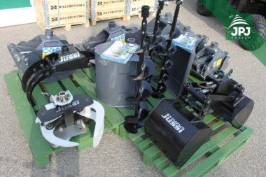 Príslušenstvo pre hydraulické ruky značiek FARMA a Vahva Jussi