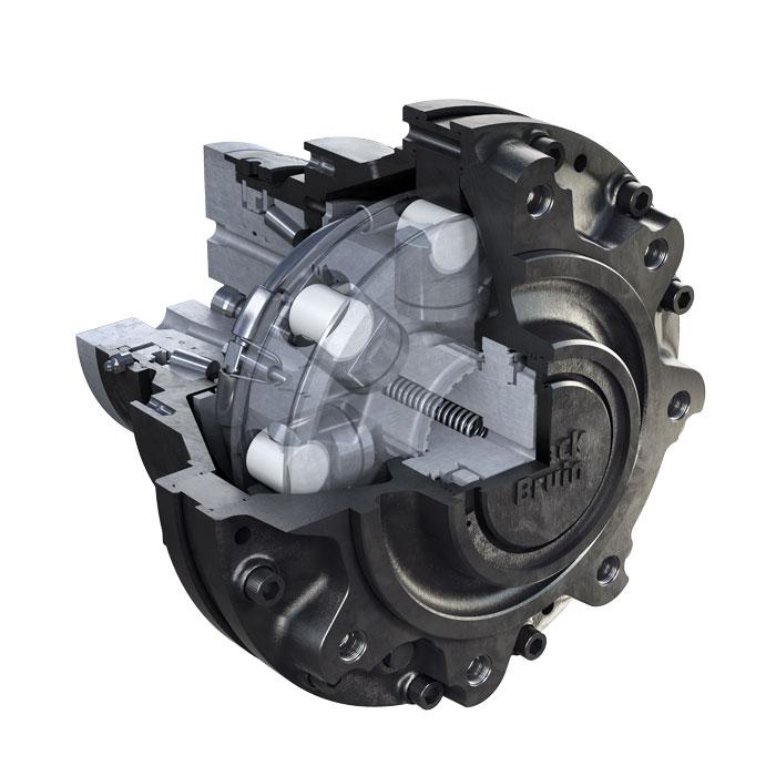 Motor Black Bruin